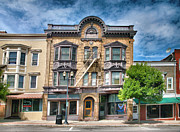 Finger Lakes Photos - Downtown Geneva I by Steven Ainsworth