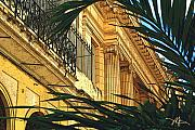Tropical Plants Prints - Downtown Havana Print by Bob Salo