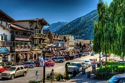 Leavenworth Photos - Downtown Leavenworth Washington by Spencer McDonald