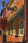 Small Towns Prints - Downtown Lexington 2 Print by Kathy Jennings