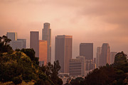 Downtown Los Angeles Print by Andrew Kennelly