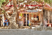 Luckenbach Framed Prints - Downtown Luckenbach Framed Print by Brent Kelly