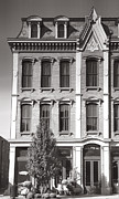 Indiana Photography Framed Prints - Downtown Madison Building Framed Print by Steven Ainsworth