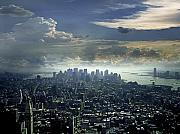 Nyc Art - Downtown Manhattan by Joachim G Pinkawa