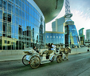Cart Horse Photos - Downtown Nashville IV by Steven Ainsworth
