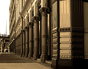 Columns Metal Prints - Downtown Portland  Metal Print by Margaret Hood