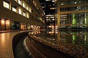 Reflecting Art - Downtown Reflections by Charline Xia