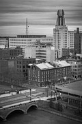 Downtown Prints - Downtown Rochester Print by Ken Marsh
