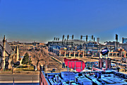 Downtown View Detroit Mi Print by Nicholas  Grunas