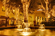 Night Scenes Photo Originals - DowntownNaples1 by Gordon Campbell