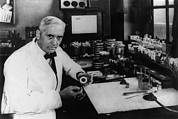 Pharmacology Framed Prints - Dr. Alexander Fleming, 1903-1972 Framed Print by Everett