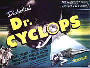 Cyclops Posters - Dr. Cyclops, Aka Doctor Cyclops Poster by Everett