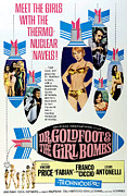 1960s Poster Art Posters - Dr. Goldfoot And The Girl Bombs, Man Poster by Everett