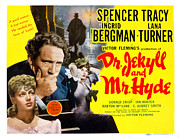 Lobbycard Prints - Dr. Jekyll And Mr. Hyde, Lana Turner Print by Everett