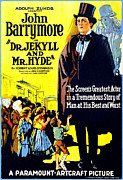 Classical Literature Posters - Dr. Jekyll And Mr. Hyde, Right John Poster by Everett
