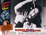 Lobbycard Framed Prints - Dr. Jekyll And Sister Hyde, Martine Framed Print by Everett