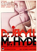 Movie Art Paintings - Dr  Jekyll  Mr  Hyde by Reproduction