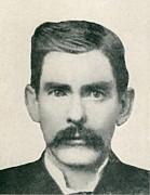 Dr. John H. Holliday 1851-1887 Was An Print by Everett