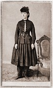 Firsts Posters - Dr. Mary Walker 1832-1919, Was Awarded Poster by Everett