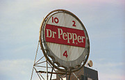 Americana - Dr. Pepper Bottle Top by Frank Romeo