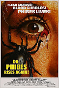 Horror Movies Framed Prints - Dr. Phibes Rises Again, Aka Dr. Phibes Framed Print by Everett