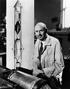 Csx Framed Prints - Dr. Robert H.goddard. Ca 1930s Framed Print by Everett