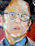 Booze Painting Framed Prints - Dr. Steve Brule  Framed Print by Jon Baldwin  Art