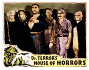 Lobbycard Prints - Dr. Terrors House Of Horrors Print by Everett