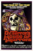 Horror Movies Posters - Dr. Terrors House Of Horrors, Poster Poster by Everett