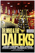 Dr. Who Acrylic Prints - Dr. Who And The Daleks, 1965 Acrylic Print by Everett