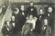 Anesthetic Posters - Dr. William T.g. Morton Administering Poster by Everett