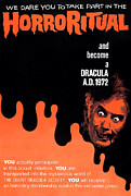 1970s Poster Art Framed Prints - Dracula A.d. 1972, Lower Right Framed Print by Everett