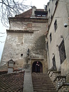 Dracula Castle Bran Transylvania Print by Mircea Veleanu