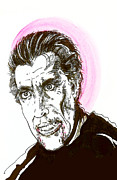 Dracula Paintings - Dracula Christopher Lee  by Christopher  Chouinard