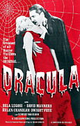 Biting Posters - Dracula, From Left Frances Dade, Bela Poster by Everett