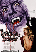 The Bare Back Posters - Dracula Has Risen From The Grave Poster by Everett