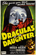 Release Prints - Draculas Daughter, Top Gloria Holden Print by Everett