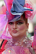 Gay Issues Photos - Drag Queen Gay  Pride Parade NYC 6 27 10 by Robert Ullmann