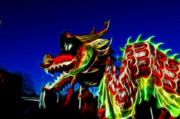 Olympics Photos - Dragon 3 by Lawrence Christopher