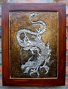 Metal Reliefs - Dragon by Cacaio Tavares