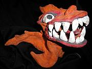 Dragon Ceramics - Dragon Grin by Shawn Mackniak
