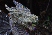 Magical Creatures Digital Art - Dragon Lair by Don  Wright