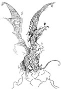 Dragon Of Life Print by Kyle Gray