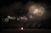 Fire Works Photos - Dragon of Light.. by Nina Stavlund