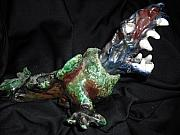 Dragon Ceramics - Dragon Yell by Shawn Mackniak