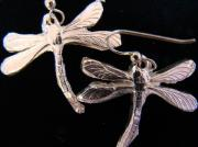 Hand Made Jewelry - Dragonfly Earrings by Kimberly Clark - Dragonfly Studios