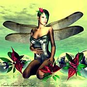 "Fantasy Art - ""dragonfly Faerie""