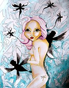 Dragonfly Artwork Originals - Dragonfly Release by Victoria Dietz