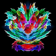 Bright Colors Art - Dragons Breath by Methune Hively