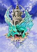 Spano Posters - Dragons Keep by Spano Poster by Michael Spano